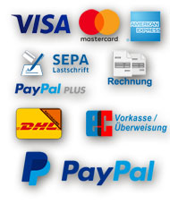 We accept payment with paypal!